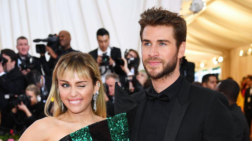 Miley Cyrus und Liam Hemsworth im Mai 2019 in New York