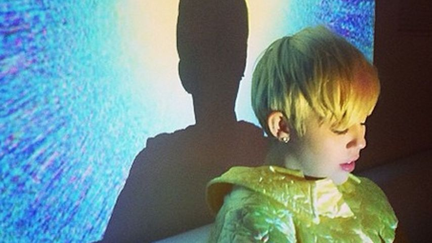 Arbeitswütig: Miley Cyrus' mysteriöses Shooting