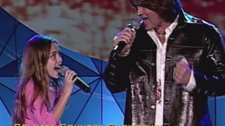 Wie süß: Hier singt Miley Cyrus als Kind