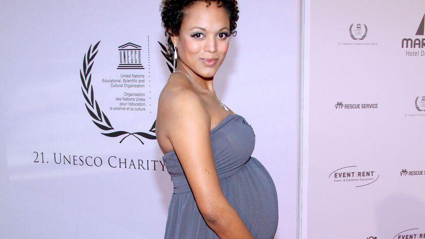 Milka Loff Fernandes: Ganz schön schwanger!
