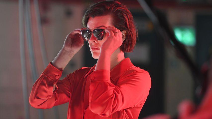 Was wird es? Schwangere Milla Jovovich bekommt...