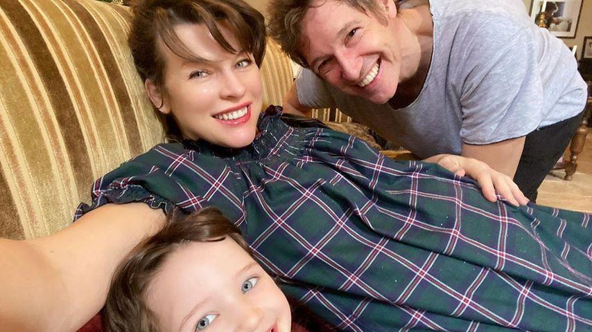 Milla Jovovich und ihre Familie