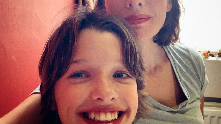 Milla Jovovich und ihre Tochter Ever Gabo Anderson im August 2019
