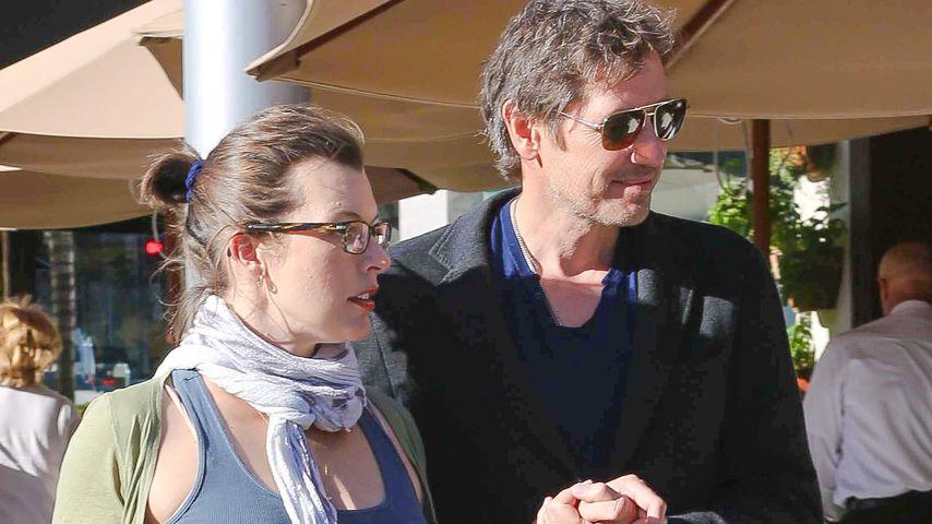Milla Jovovich und Paul William Scott Anderson