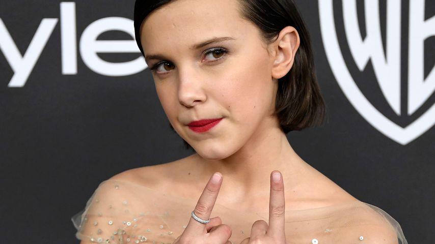 Dieser Netflix-Serien-Star (12) rasiert sich die Haare ab!