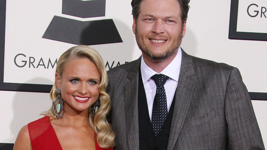 Miranda Lambert und Blake Shelton bei den Grammy Awards
