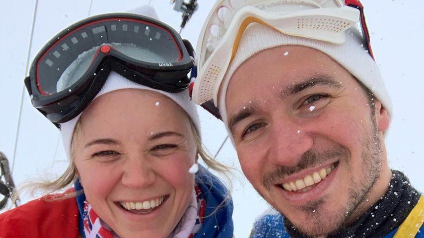 Miriam Neureuther und ihr Ehemann Felix