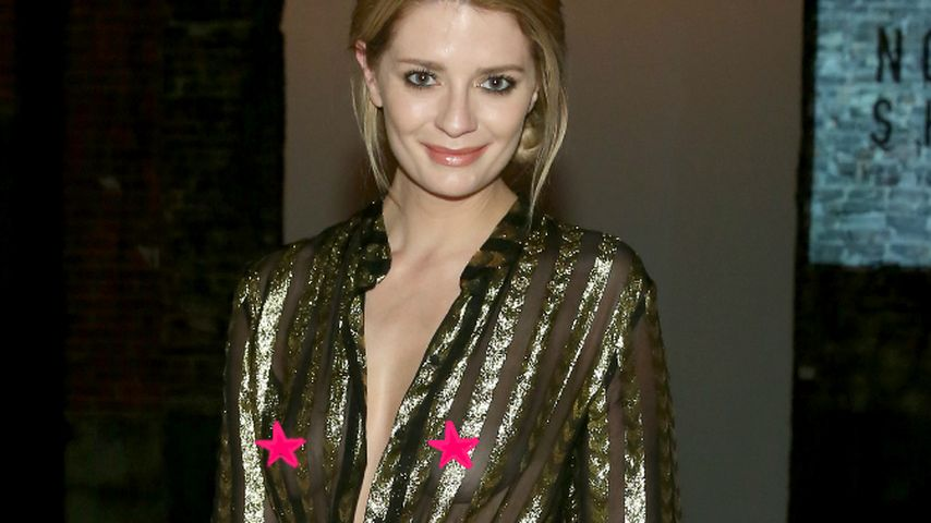Mischa Barton auf der New York Fashion Week