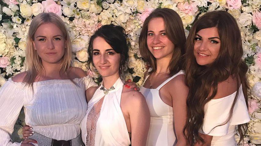 MissesVlog, Jodie Calussi, Melina Sophie, Annika Schulz bei Dagi Bees Hochzeit 2018