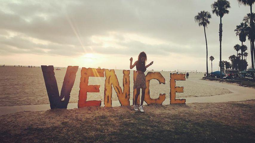 Model Joelle Juana in Venice