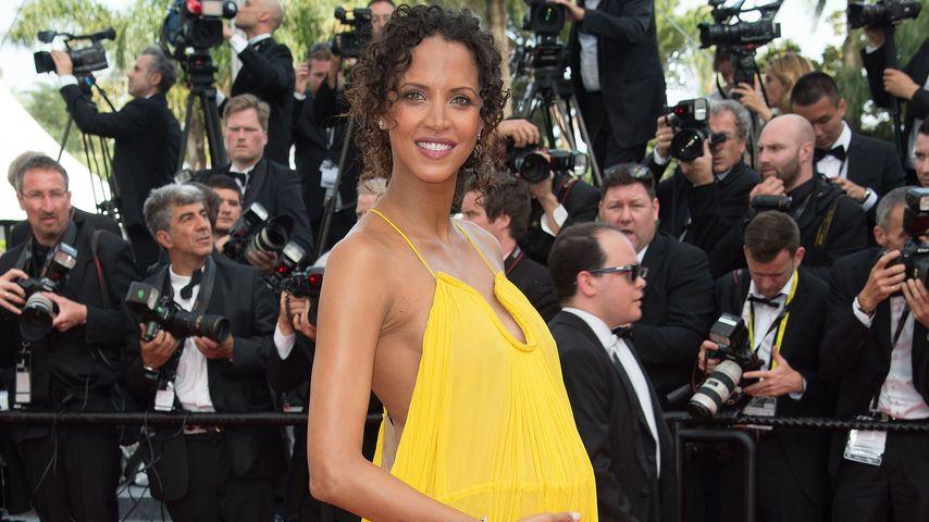 Sie strahlt wieder! Noemie Lenoir hochschwanger in Cannes