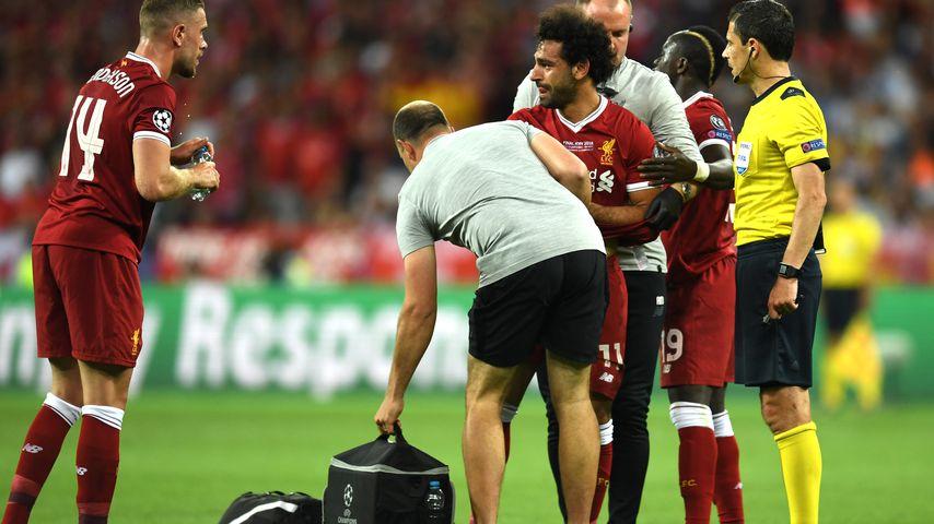 Mohamed Salah im Champions-League-Finale