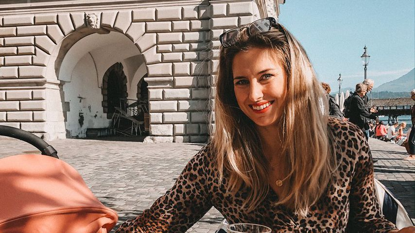 Stolze Mama: Mona Stöckli gratuliert Clea zum 1. Geburtstag