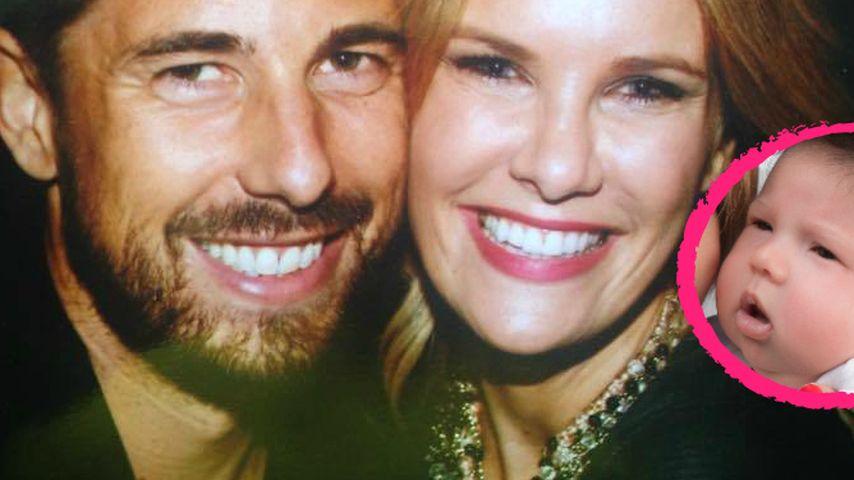 Monica Ivancan & Christian: Rosa ganz der Papa?