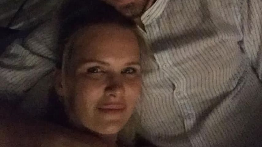 Monica Ivancan mit ihrem Partner Christian Meier
