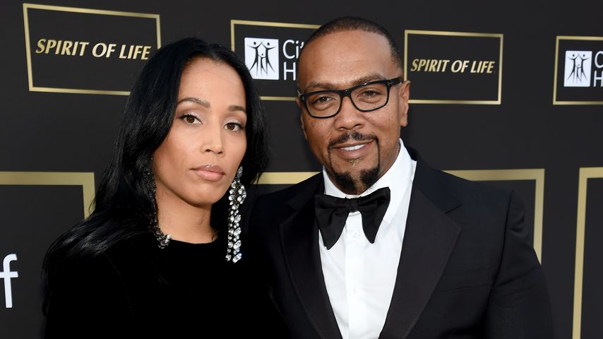 Monique Idlett und Timbaland im Oktober 2018
