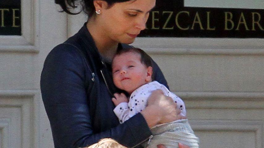 Lunch mit Morena Baccarin: 1. Fotos von Ben McKenzies Baby!