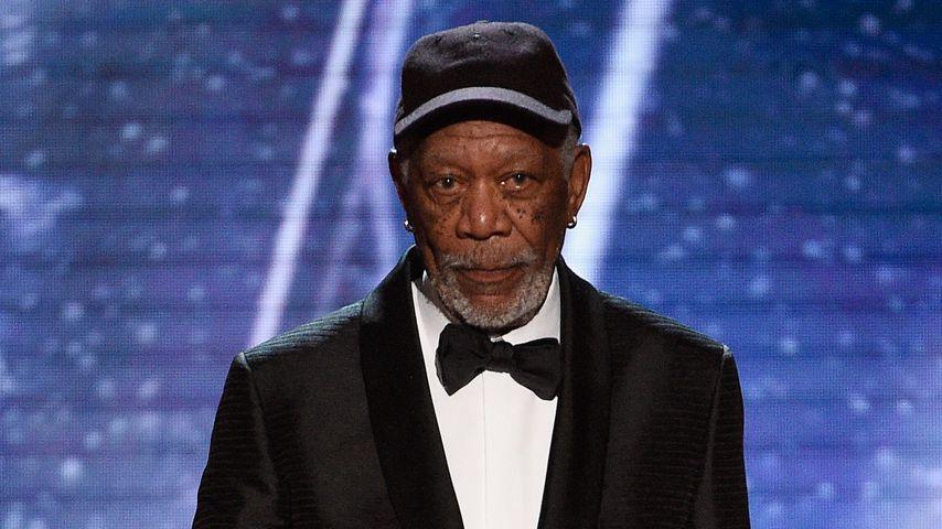 Morgan Freeman bei den Screen Actors Guild Awards 2018 in L.A.
