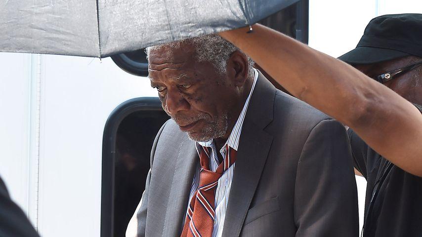 Nach E'Denas Tod: Morgan Freeman geht wieder zur Arbeit