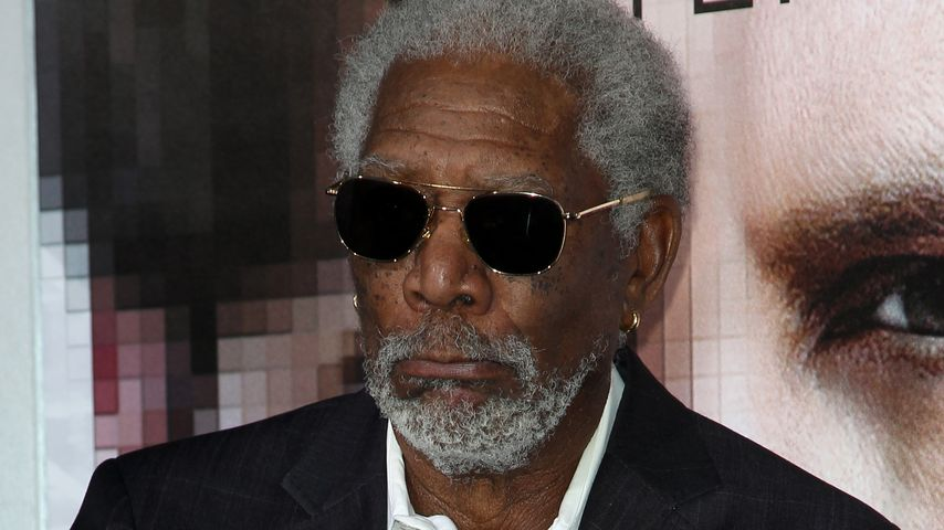 Probleme an Bord: Morgan Freemans Privatjet musste notlanden