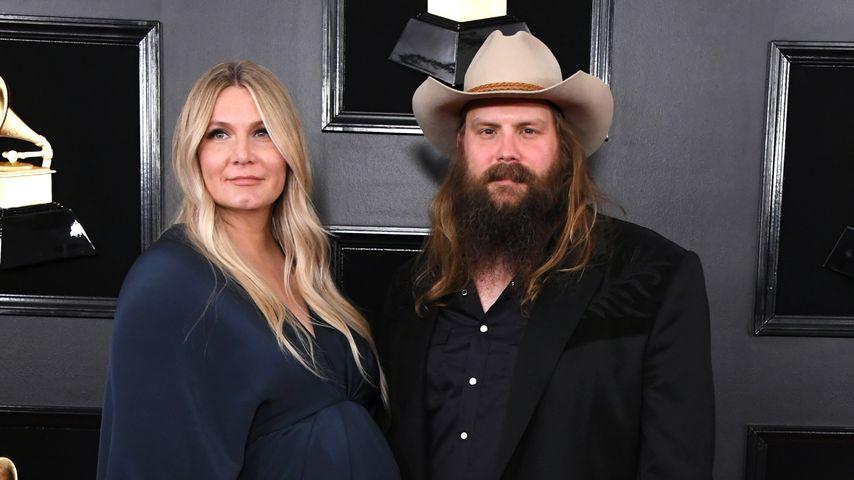 Morgane und Chris Stapleton im Februar 2019 in Los Angeles
