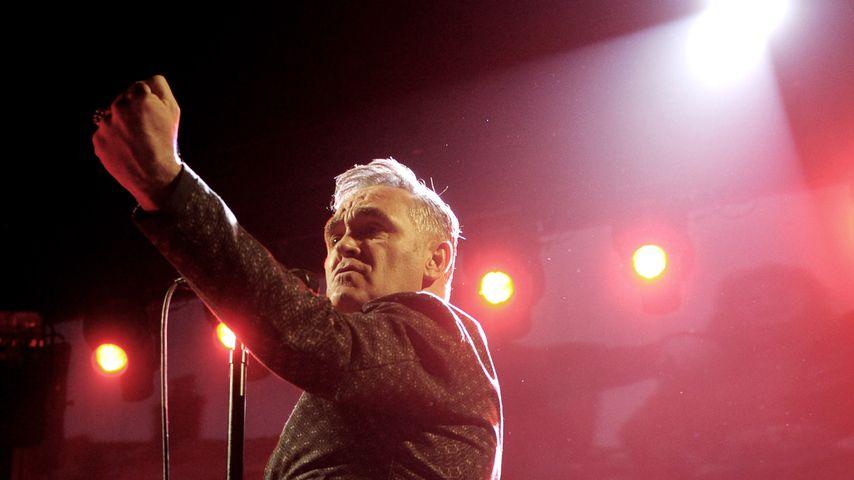 Morrissey bei einem Auftritt in Los Angeles