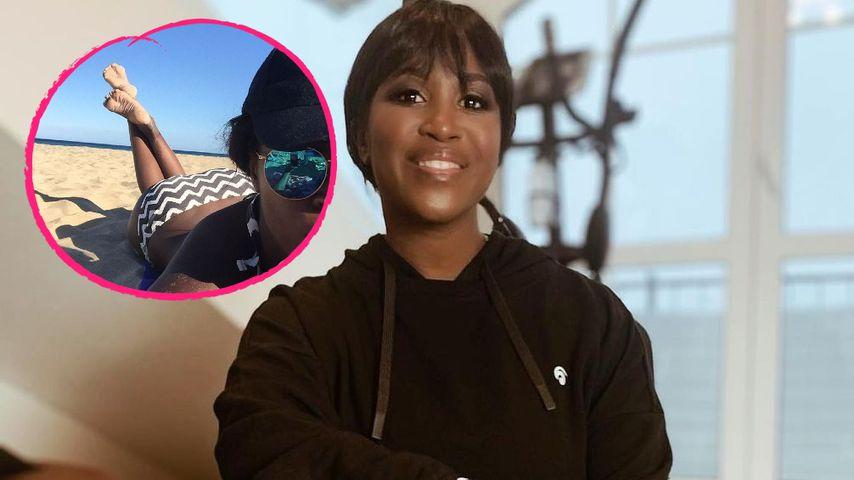 Fernweh-Selfie: Motsi Mabuse postet Bikini-Foto vom Strand