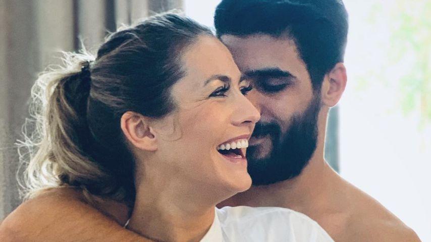 Fiona Erdmann und ihr Freund Mohammad im Jahr 2020