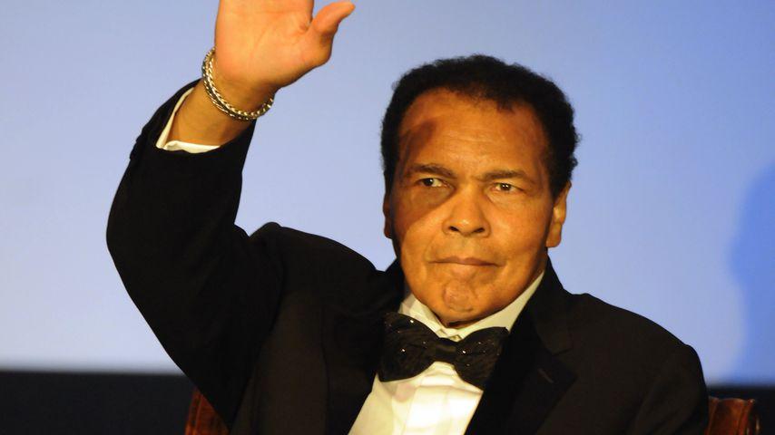 Tragisch! Muhammad Ali fällt das Sprechen schwer