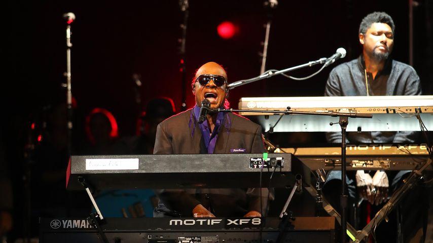 Musik-Legende Stevie Wonder