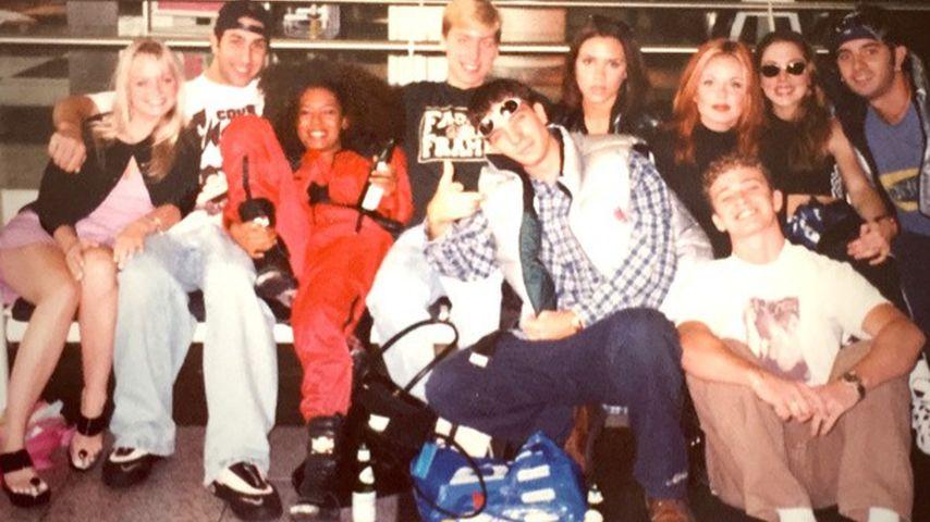 So 90er! 'N Sync sind ganz vernarrt in die Spice Girls