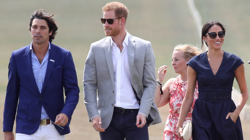 Nacho Figuares, Prinz Harry und Herzogin Meghan