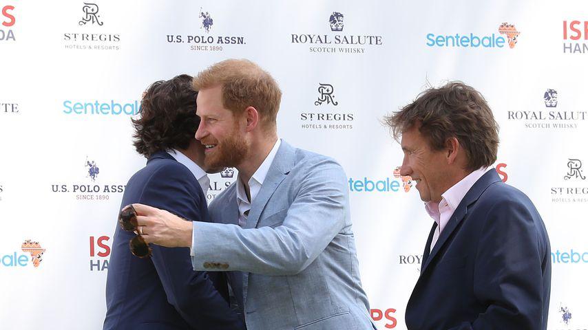 Nacho Figueras, Prinz Harry und Johnny Hornby