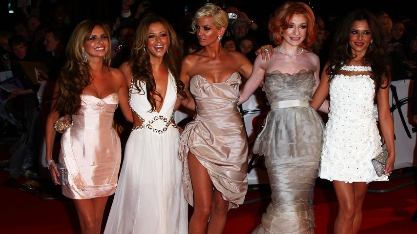Girls Aloud bei den Brit Awards in London im Februar 2009