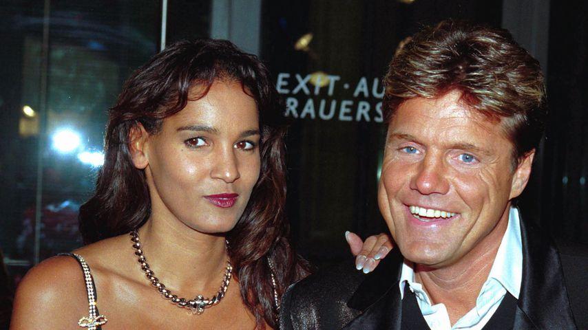 Nadja Abd el Farrag und Dieter Bohlen, 2001
