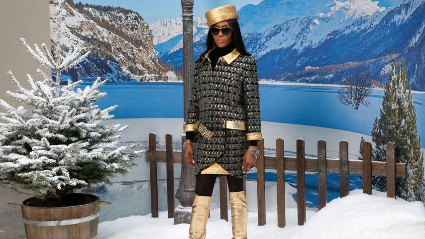 Naomi Campbell bei einer Fashionshow von Chanel