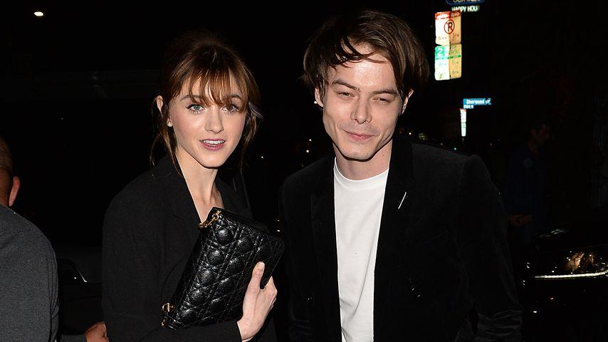 Natalia Dyer und Charlie Heaton in Los Angeles