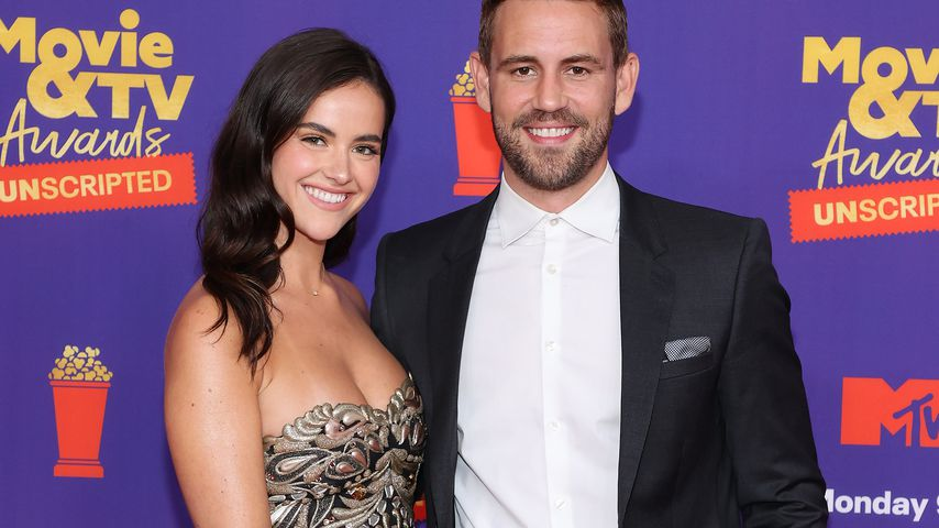 Natalie Joy und Nick Viall bei den MTV Movie & TV Awards in L.A. im Mai 2021