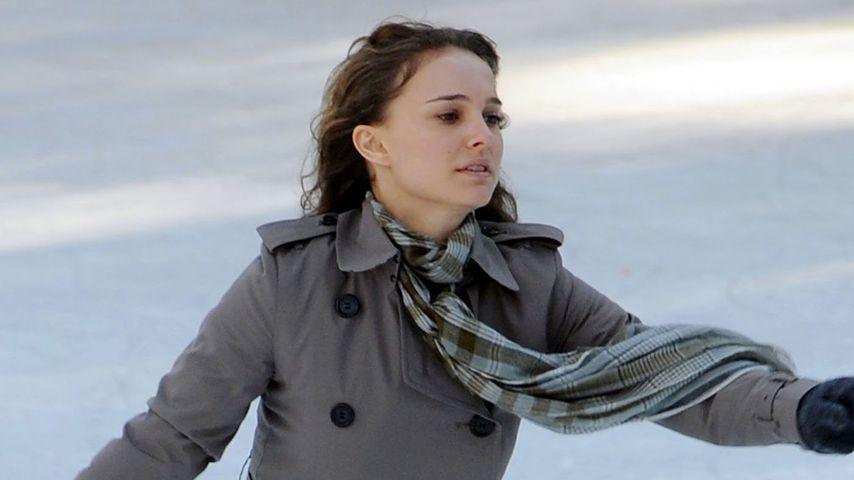 Romantisch! Natalie Portman schwebt übers Eis