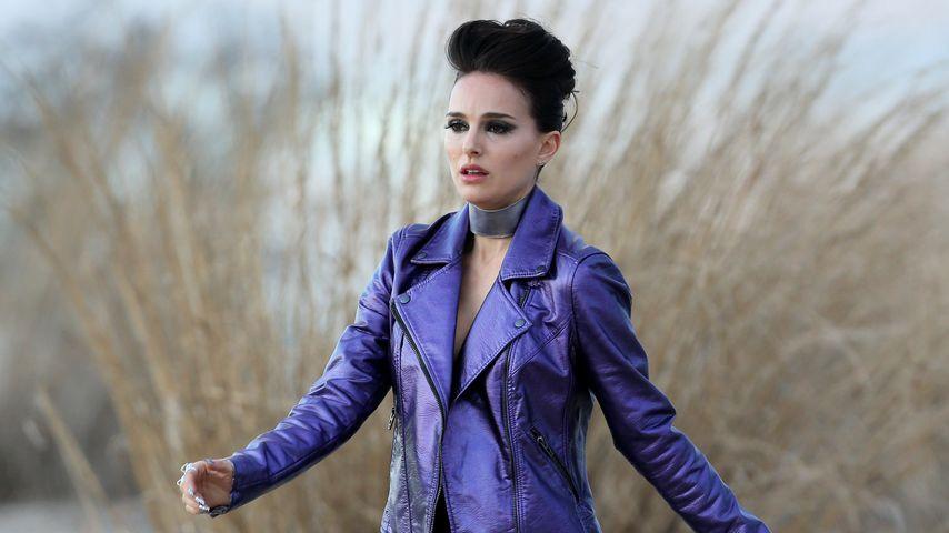 Plötzlich 80er Rocker-Braut! Natalie Portman total verändert