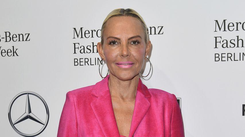 Natascha Ochsenknecht bei der Mercedes-Benz Fashion Week