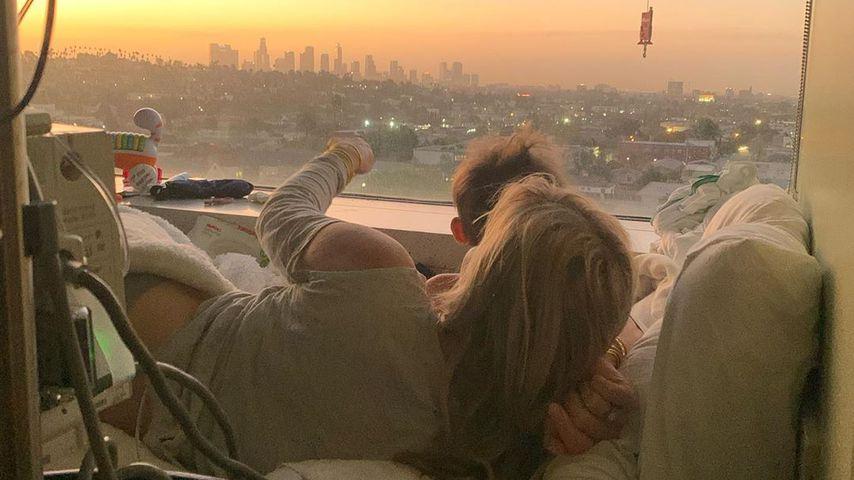 Natasha Bedingfield mit Sohn Solomon, Dezember 2019