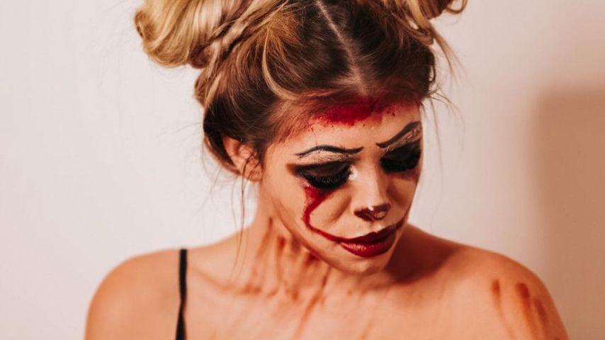 Grusel-Puppe: BTN-Nathalie präsentiert ihren Halloween-Look