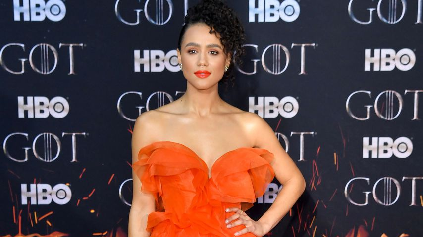 "Nathalie Emmanuel auf der ""Game of Thrones""-Finalpremiere in New York"