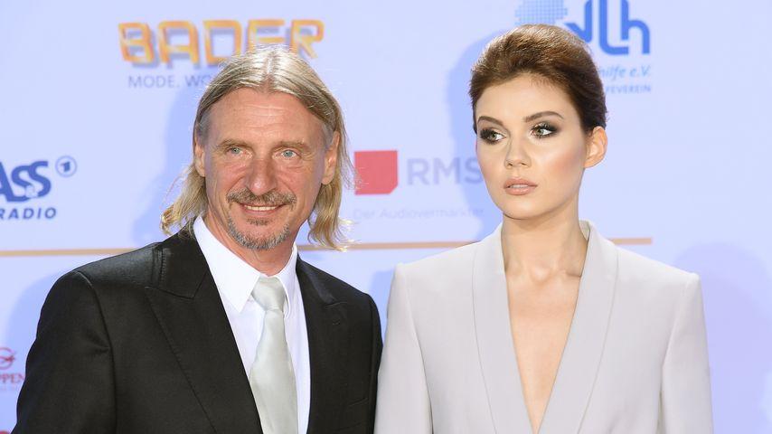 Nathalie Volk und Frank Otto beim Deutschen Radiopreis 2016