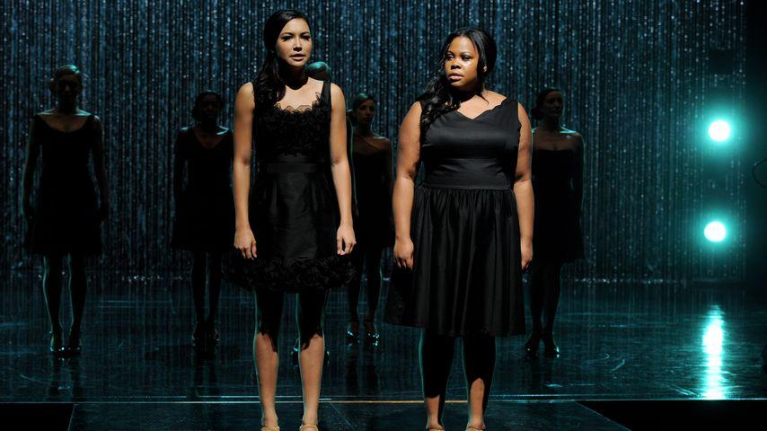 """Naya Rivera und Amber Riley, """"Glee""""-Darstellerinnen"""