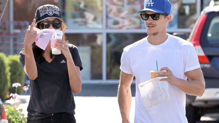 Naya Rivera und Ryan Dorsey in Los Feliz