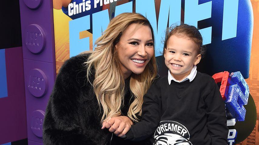 Naya Rivera mit ihrem Sohn Josey Hollis