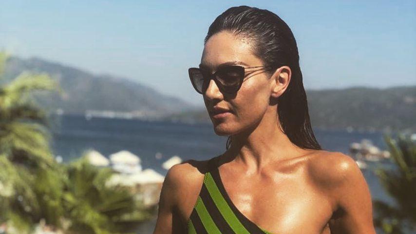 Hottes Beach-Babe: Nazan Eckes verzückt Fans in Bademode