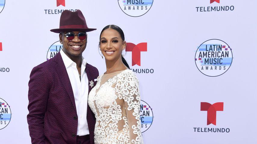 Ne-Yo mit seiner Frau Crystal 2019 in Hollywood